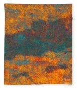 0510 Abstract Thought Fleece Blanket