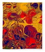 0576 Abstract Thought Fleece Blanket