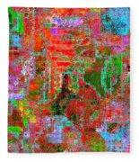 1306 Abstract Thought Fleece Blanket