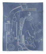 1856 Revolver Patent Fleece Blanket
