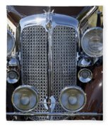 1933 Chrysler Imperial - Cl Phaeton Fleece Blanket