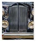 1937 Packard Super 8 Fleece Blanket