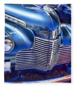 1940 Chevy Grill Fleece Blanket
