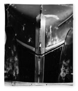 1940s Ford Grill Fleece Blanket