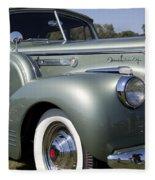 1941 Packard 160 Super Eight Fleece Blanket