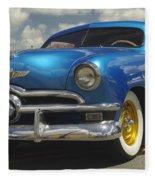 1950 Ford Automobile Fleece Blanket