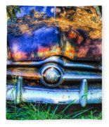 1950 Ford To Be Reconditioned Fleece Blanket