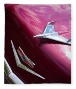 1956 Chevy Bel Air Fleece Blanket