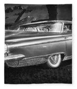 1959 Buick Electra 225 Bw Fleece Blanket