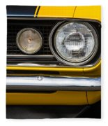 1967 Camaro Headlight Fleece Blanket