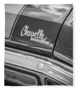 1970 Chevy Chevelle 454 Ss Bw  Fleece Blanket