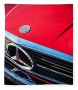 1984 Mercedes 500 Sl Convertible Fleece Blanket