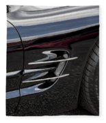 2002 Corvette Ls1 5 7ltr Fleece Blanket