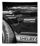 2007 Ford Mustang Shelby Gt500 Painted Bw  Fleece Blanket