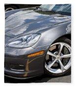 2010 Chevy Corvette Grand Sport Fleece Blanket