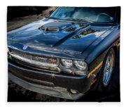 2010 Dodge Challenger Rt Hemi    Fleece Blanket