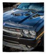 2010 Dodge Challenger Rt Hemi    Fleece Blanket