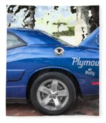 2010 Plymouth Superbird  Fleece Blanket