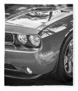 2013 Dodge Challenger Fleece Blanket