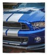 2013 Ford Mustang Shelby Gt 500  Fleece Blanket