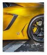 2013 Lamborghini Adventador Lp 700 4 Fleece Blanket