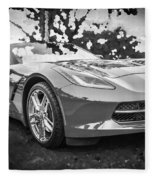 2014 Chevrolet Corvette C7 Bw   Fleece Blanket