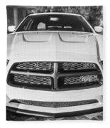 2014 Dodge Charger Rt Painted Bw Fleece Blanket