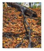 Woods Scene Fleece Blanket