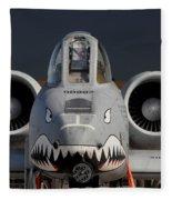 A-10 Warthog Fleece Blanket