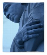 A Blue Martin Luther King - 2 Fleece Blanket