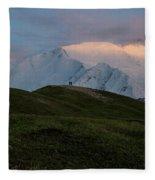 A Couple Of Mountaineers Fleece Blanket