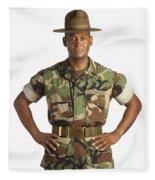 A Military Man Fleece Blanket