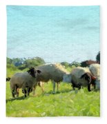 A Summerday Fleece Blanket