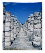 A Thousand Columns Fleece Blanket