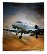 A10 Thunderbolt II Fleece Blanket