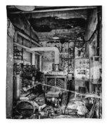 Abandoned Sanatorium Fleece Blanket