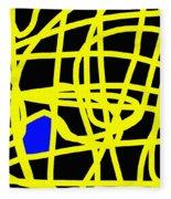 Abstract 231 Fleece Blanket