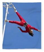 Acrobatic Performance Fleece Blanket