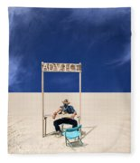 Advice Fleece Blanket