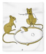 Aesop: Town And Country Fleece Blanket