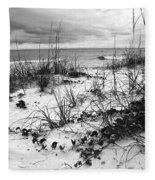 After The Storm Bw Fleece Blanket