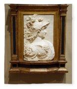 Alexander The Great By Andrea Del Verrocchio Fleece Blanket
