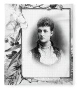 Alexandra Of Denmark (1844-1925) Fleece Blanket