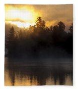Algonquin Sunrise Fleece Blanket