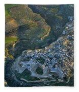 Alhama De Granada From The Air Fleece Blanket