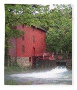Alley Springs Mill  Fleece Blanket