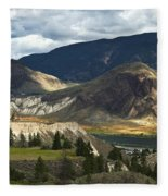 Along The River  Fleece Blanket