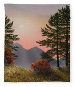 Alpine View Fleece Blanket