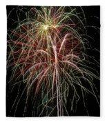 Amazing Fireworks Fleece Blanket