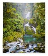 Amazing Waterfall Fleece Blanket